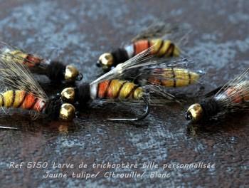 Larve de Trichoptère bille personnalisée