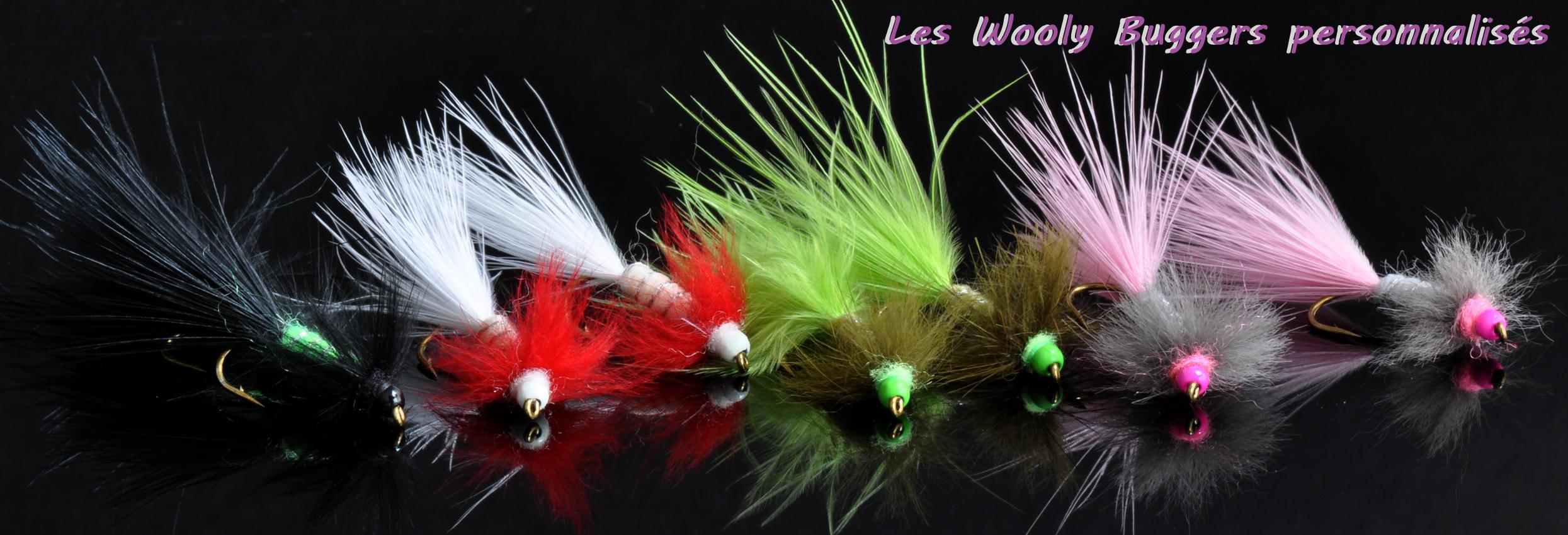 """Une mouche de pêche """"De plumes et d'acier"""" Le Wooly Bugger"""