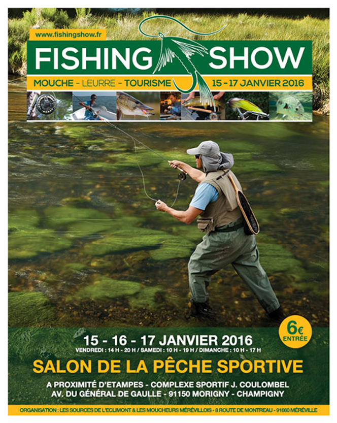 Paris Fly Fishing Show 2016 bis