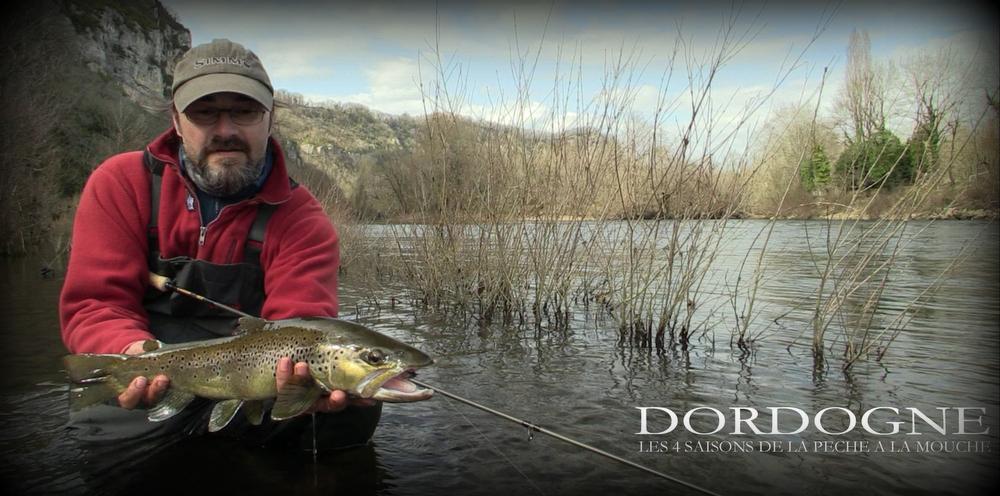 Dordogne Les 4 saisons de la pêche à la mouche