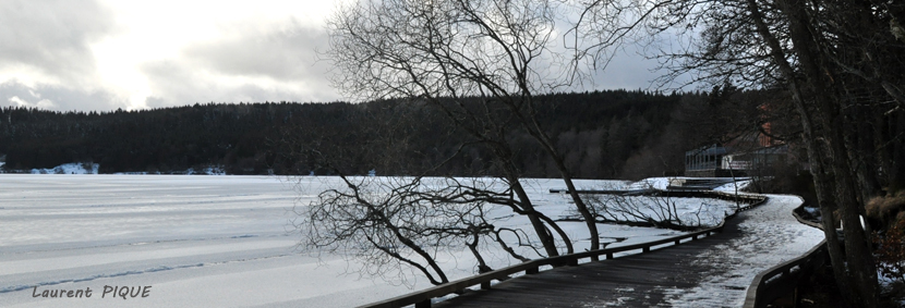 """Mouche peche """"De plumes et d'acier"""" Lac du Bouchet2"""