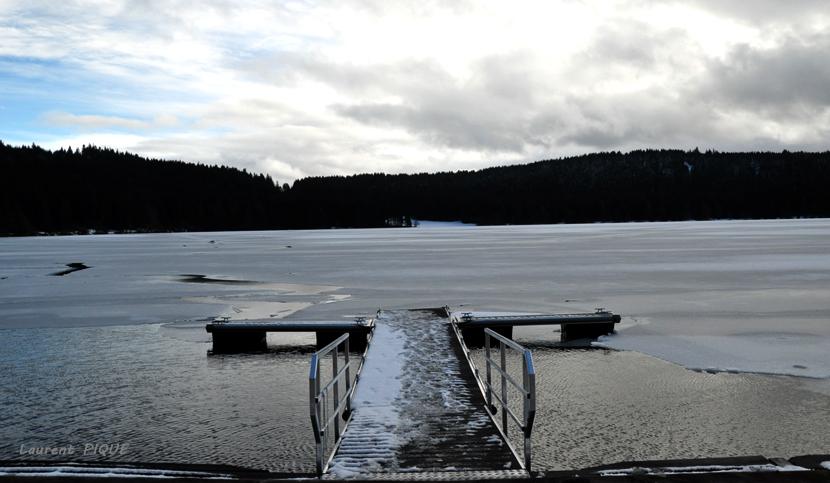 """Mouche peche """"De plumes et d'acier"""" Lac du Bouchet4"""