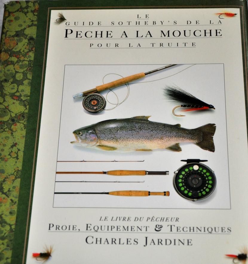 """Mouche peche """"De plumes et d'acier"""" Brocante pêche Auch 2017/2"""
