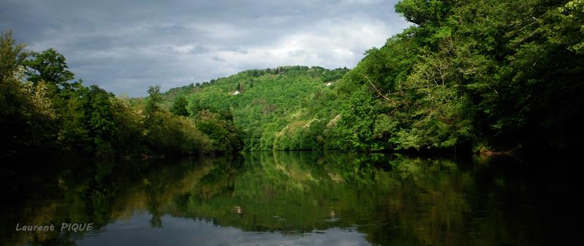"""Mouche peche """"De plumes et d'acier"""" La Dordogne 2"""