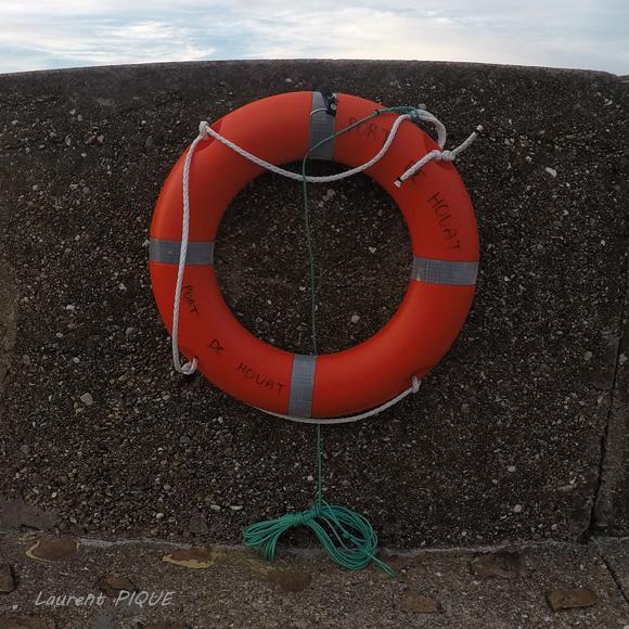 """Mouche pêche """"De plumes et d'acier"""" La bouée du port de Houat"""