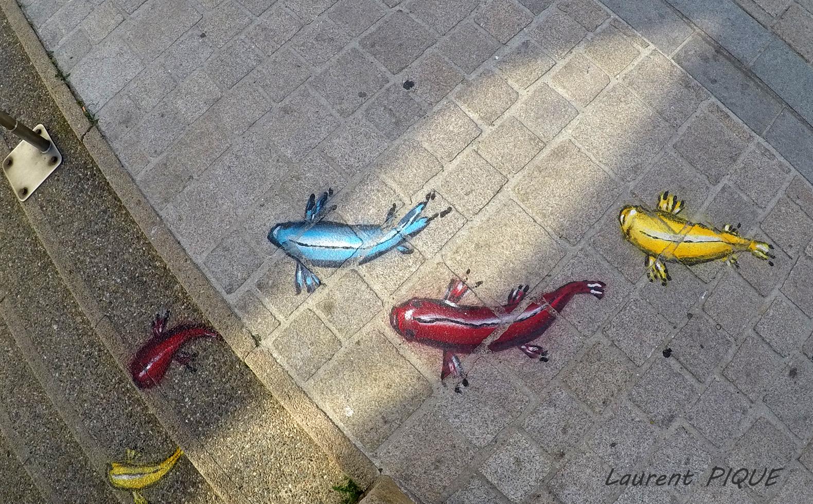 """Mouche pêche """"De plumes et d'acier"""" Les trottoirs de Quiberon"""