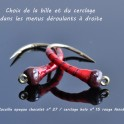 Larve de Chironome personnalisable Corps Rouge