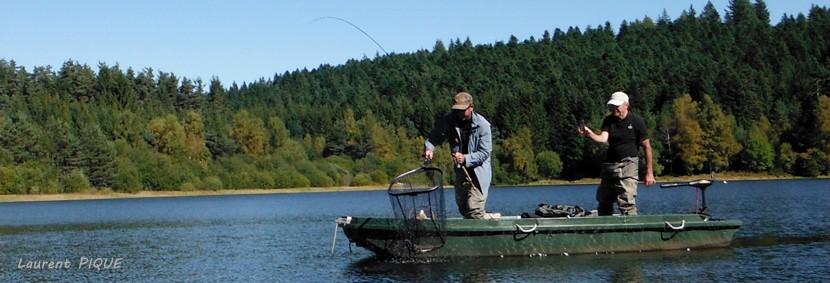 Pêche en réservoir